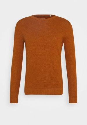 Jumper - rusty orange melange
