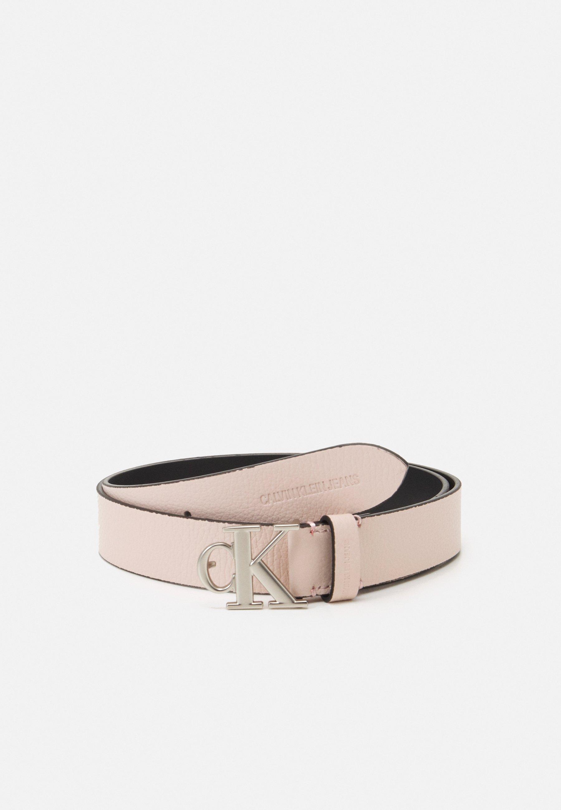 Women MONO HARDWARE ROUND BUCKLE - Belt