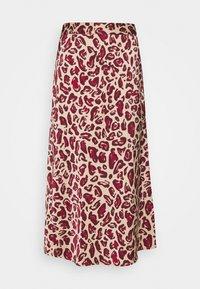 Fabienne Chapot - CLAIRE SKIRT - A-line skirt - oatmeal/parrot purpl - 3