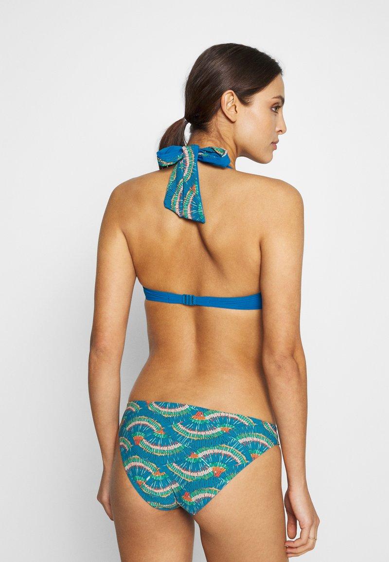 Chantelle PLUME SLIP - Bikini-Hose - blue/peacock/blau sHnzyZ