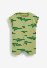 Next - 3 PACK PRINTED POPPER - Jumpsuit - green yellow blue - 3