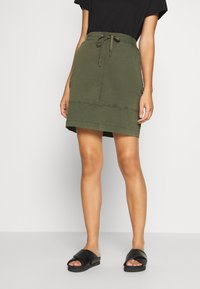 comma casual identity - Mini skirt - green - 0