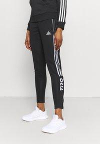 adidas Performance - Pantaloni sportivi - black - 3