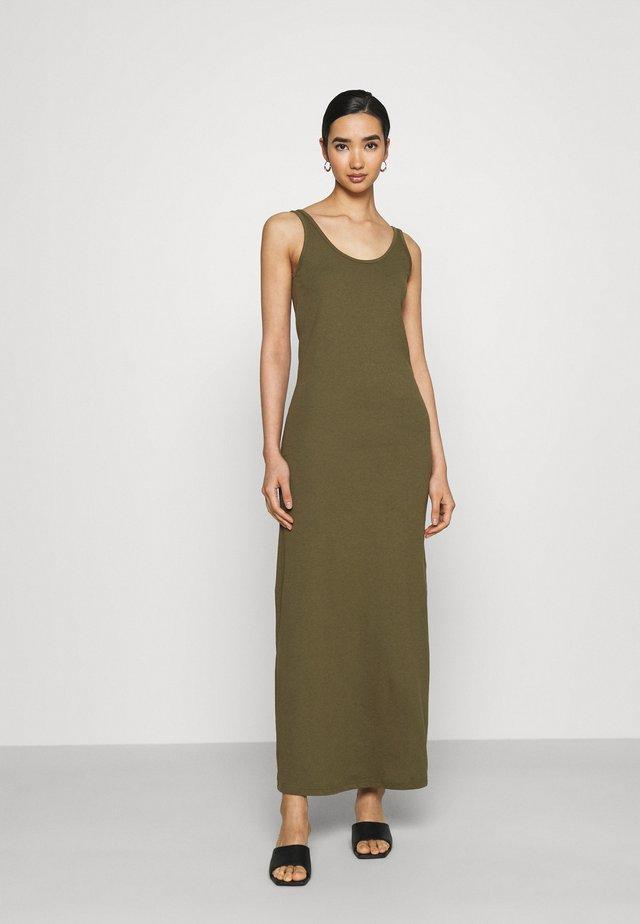 Vestito lungo - ivy green