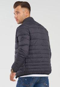 Jack & Jones - MIT STEHKRAGEN - Light jacket - black - 2