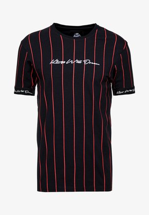 CLIFTON - T-shirt con stampa - black/red