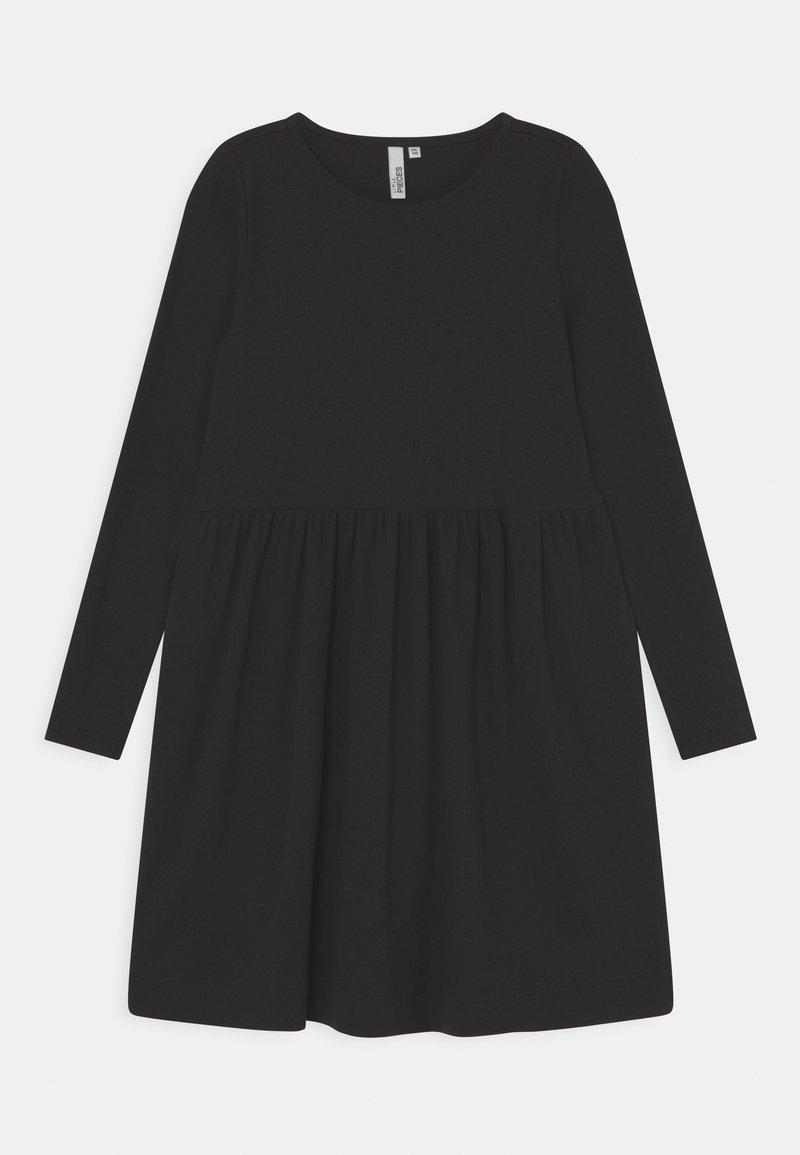Little Pieces - LPTAYA DRESS - Jersey dress - black