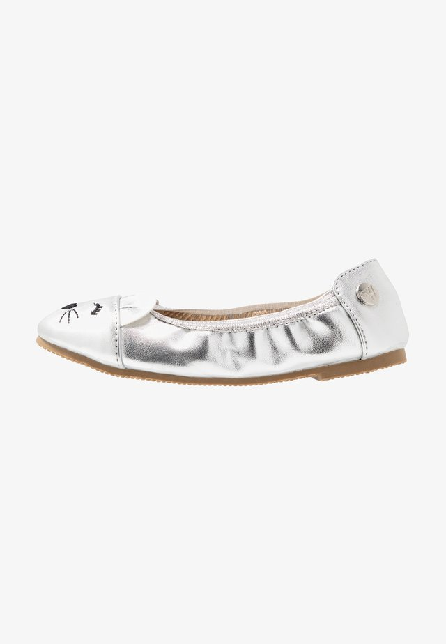 CATIE MOUSE BALLET - Ballet pumps - silver
