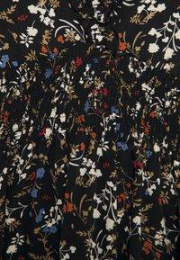 Missguided Plus - FRILL CUFF SKATER DRESS POLKA - Day dress - black - 2