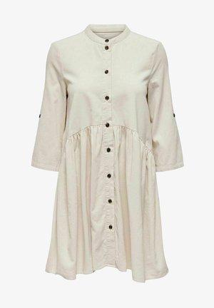 KORDSAMT - Shirt dress - cloud dancer