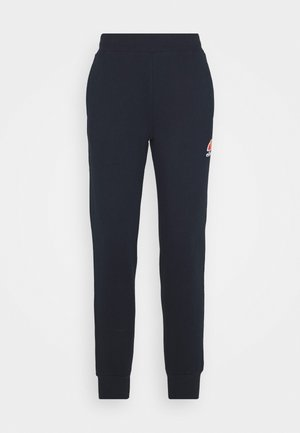QUEENSTOWN - Tracksuit bottoms - dark blue