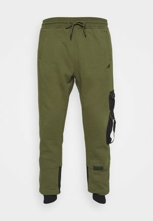 TACTICAL - Tracksuit bottoms - olive
