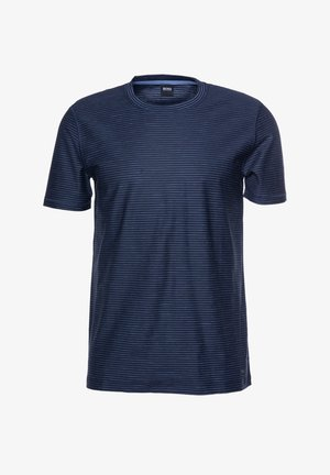 TEFLOAT - Print T-shirt - dark blue