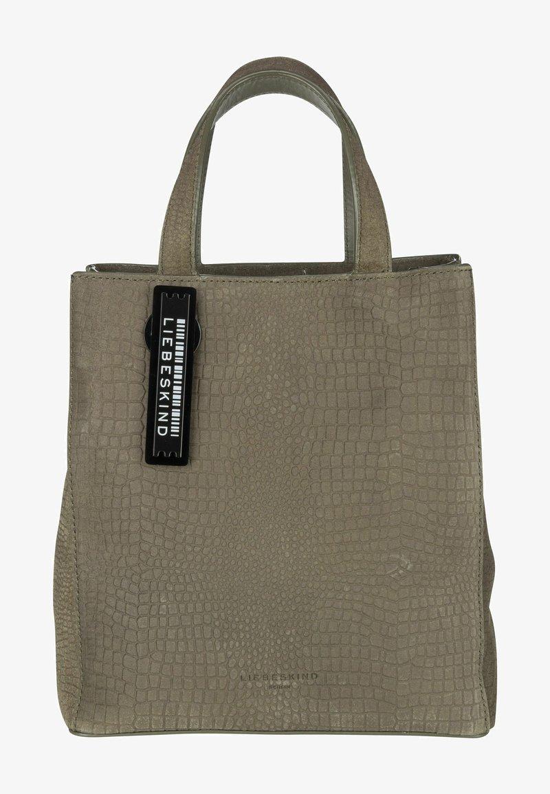 Liebeskind Berlin - LIZARD LOOK - Handbag - elephant green