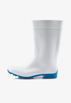 Regenlaarzen - white/blue