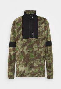 Volcom - REKKER POLAR CREW - Fleece jumper - olive - 0