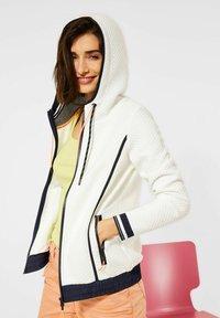 Cecil - Zip-up hoodie - weiß - 1