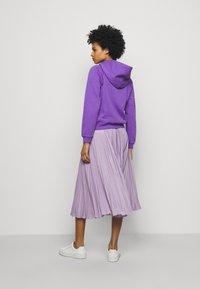 Polo Ralph Lauren - LONG SLEEVE - Felpa con cappuccio - spring violet - 2