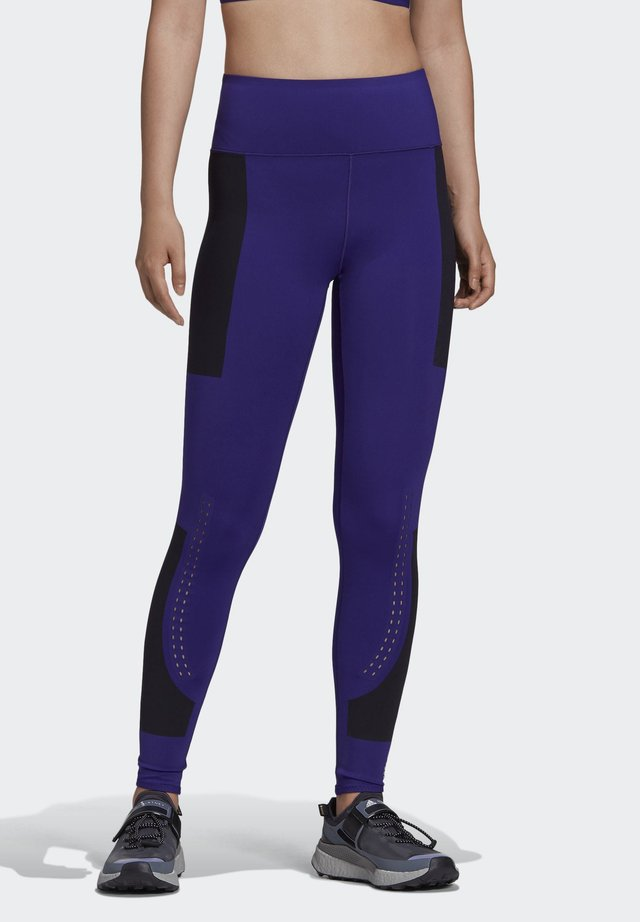 ADIDAS BY STELLA MCCARTNEY SUPPORT CORE LEGGINGS - Legging - purple