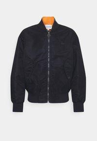 Lacoste - Bomber Jacket - dark blue/orange - 0