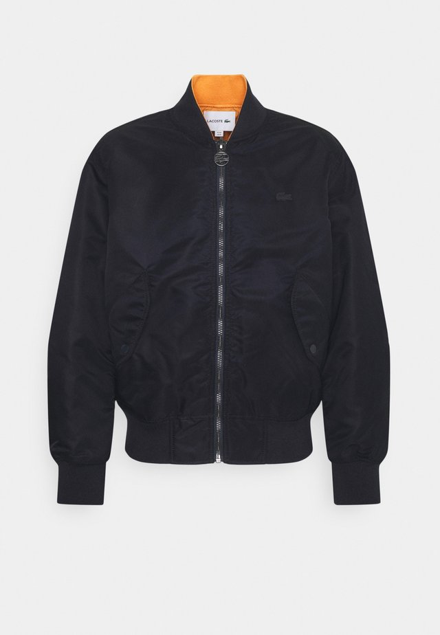 Bomber Jacket - dark blue/orange