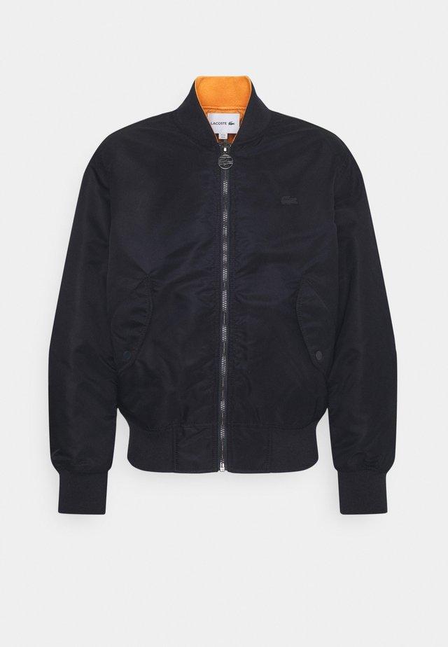 Bomberjacks - dark blue/orange