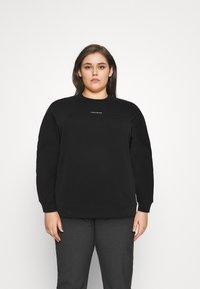 Calvin Klein Jeans Plus - MICRO BRANDING - Mikina - black - 0