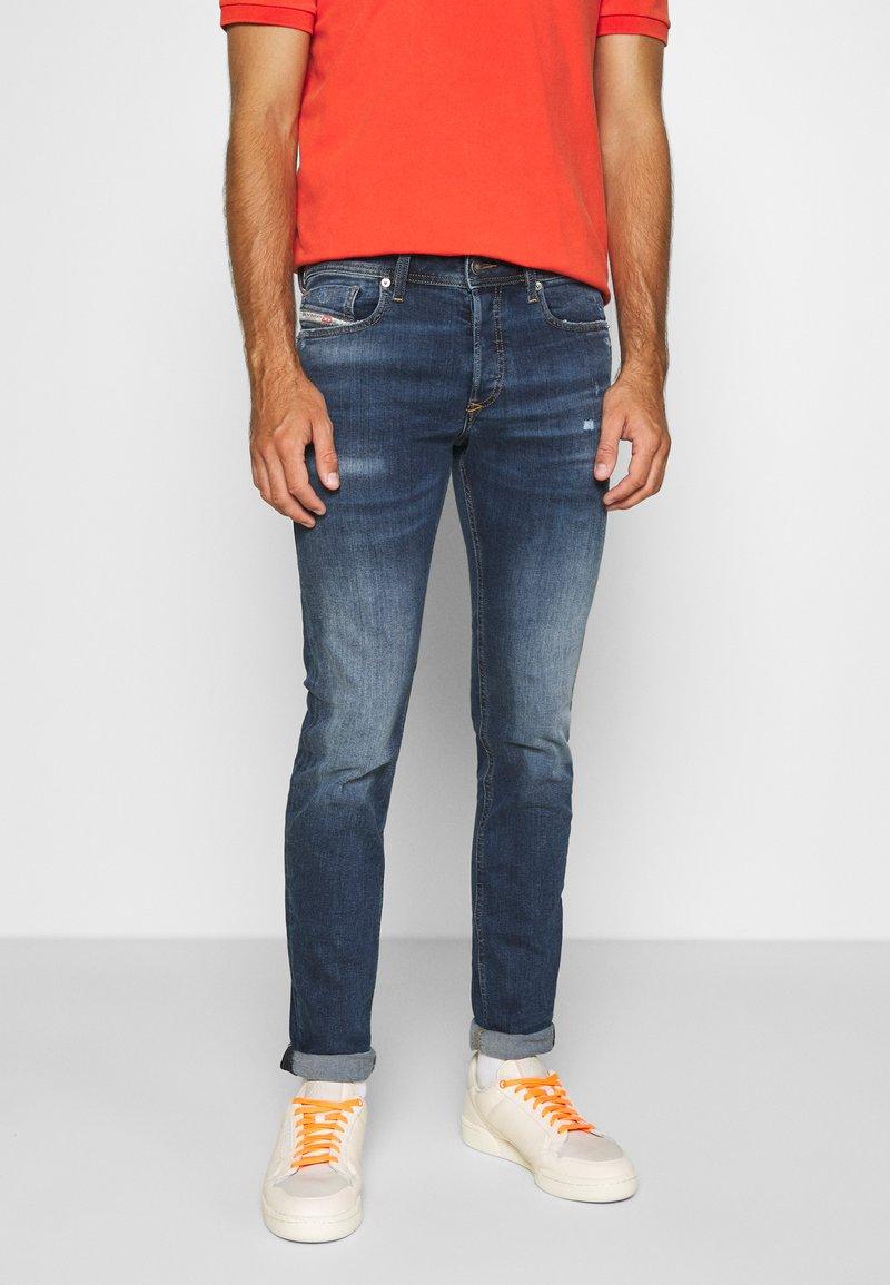 Diesel - SLEENKER-X - Slim fit jeans - blue denim