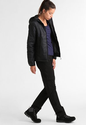 EXPLORATION CONVERTIBLE PANT - Outdoor trousers - black