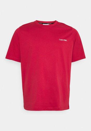 CHEST LOGO - Basic T-shirt - true rose