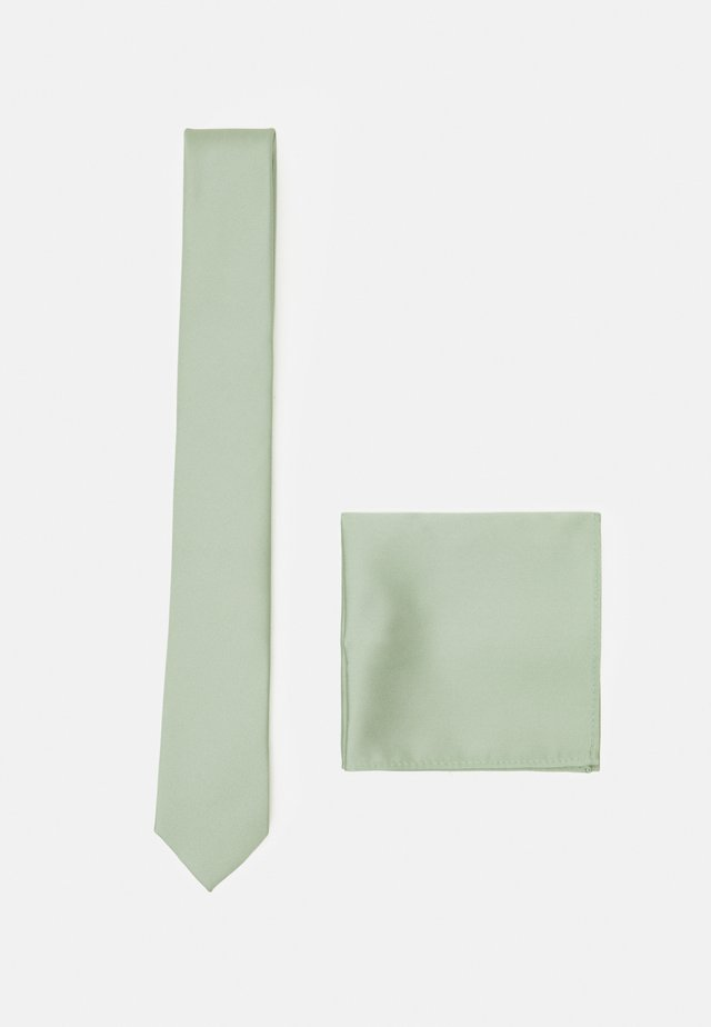 SET - Taskuliina - light green