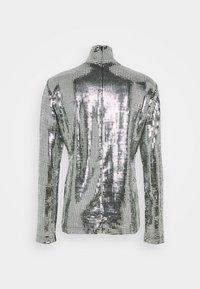 MM6 Maison Margiela - T-shirt à manches longues - silver - 1