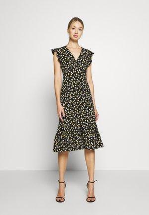 LILLIE MIDI - Jersey dress - black