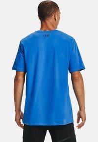 Under Armour - FOUNDATION - Print T-shirt - brilliant blue - 2