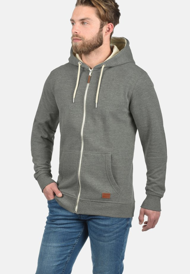 HULKER - Felpa aperta - dark grey