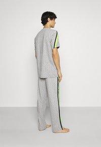 Michael Kors - PEACHED PANT - Pyjama bottoms - grey/multi - 2