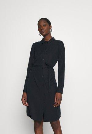 PECK DRESS - Košilové šaty - carbon