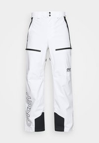 Oakley - LINED SHELL PANT - Snow pants - white - 4