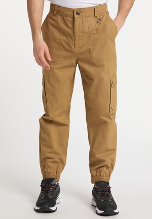 Cargo trousers - dark sand