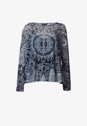 DIJON - Camiseta de manga larga - black