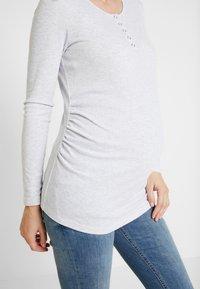 Cotton On - HENLEY SLEEVE - Bluzka z długim rękawem - grey - 5
