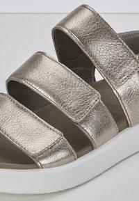 ECCO - Walking sandals - metallic grey - 5