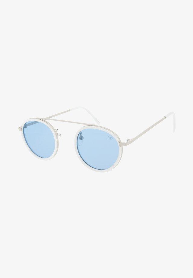 Sluneční brýle - silver & white