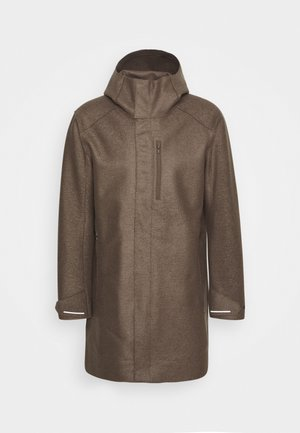 MENS AINSWORTH HOODED JACKET - Softshelljacka - driftwood
