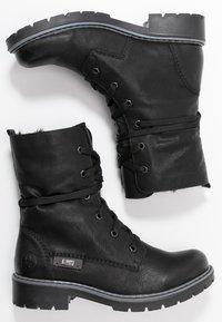 Rieker - Winter boots - schwarz/graphit - 3