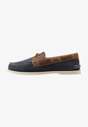 EYE WILD HORSE - Boat shoes - navy/sonora