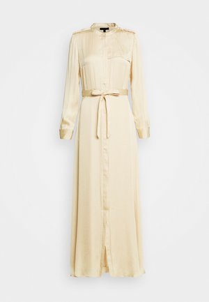 TRENCH MAXI DRESS - Skjortekjole - wheat