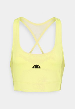 RABERONA BRA TOP - Sports bra - light green