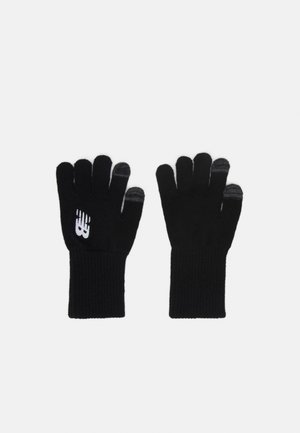 RUNNING GLOVES - Fingerhandschuh - black