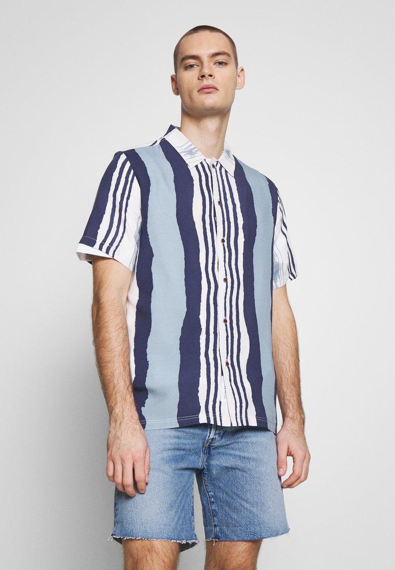 Native Youth - TIDAL  - Shirt - blue